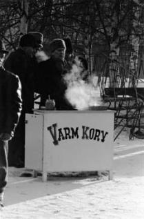 Jokkmokks marknad. Fotograf: Alwin Åke 1958. Bildrätt: Ájtte museum